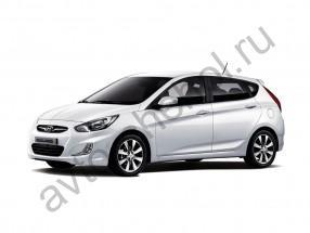 Авточехлы Hyundai Solaris Hatchback 2010+