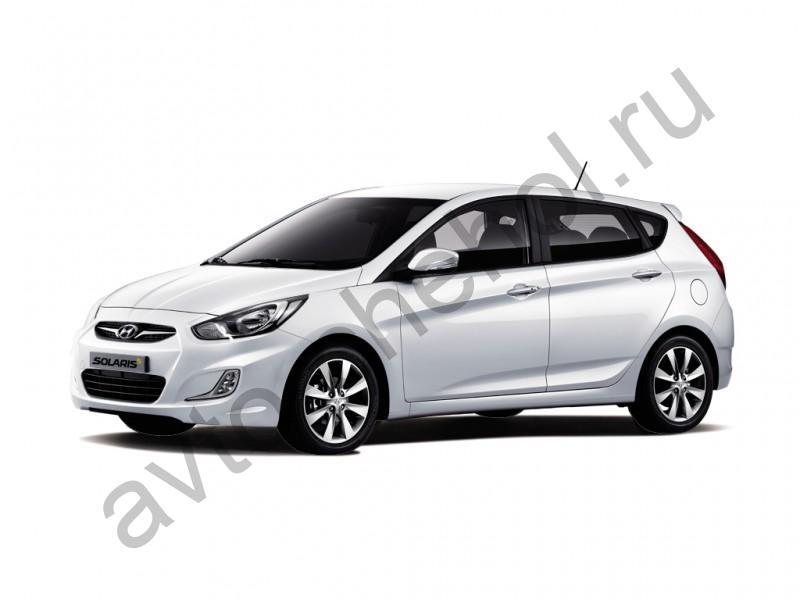 Авточехлы Hyundai Solaris Hatchback (2010-2017)