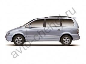Авточехлы Hyundai TRAJET 7 мест 2000-2009