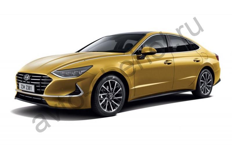 Авточехлы Hyundai Sonata VIII 2019+