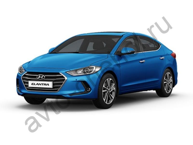 Коврики Hyundai Elantra VI (AD) 2016+
