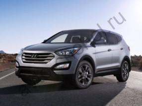 Авточехлы Hyundai Santa Fe III с 2012+