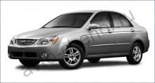 Кузов - Авточехлы Kia Cerato I sedan 2004-2009