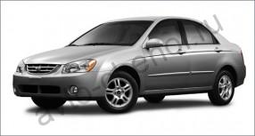 Авточехлы Kia Cerato I sedan 2004-2009