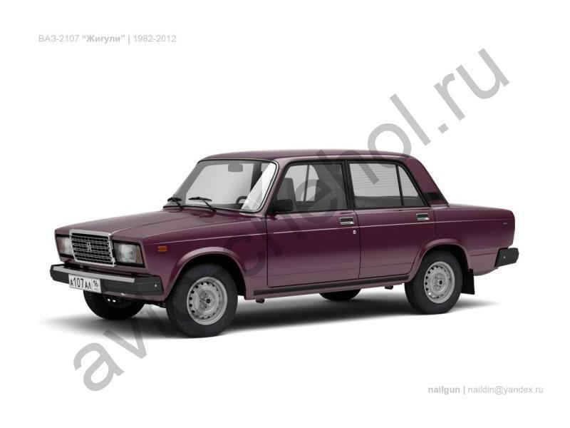 Авточехлы ВАЗ 2107 (1982-2012)