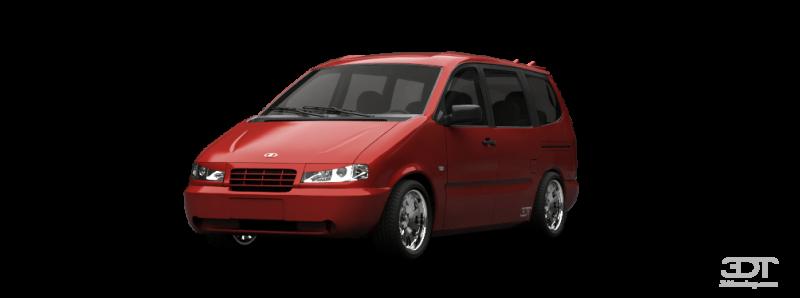 Авточехлы ВАЗ 2120 7 мест НАДЕЖДА (1999-2006)