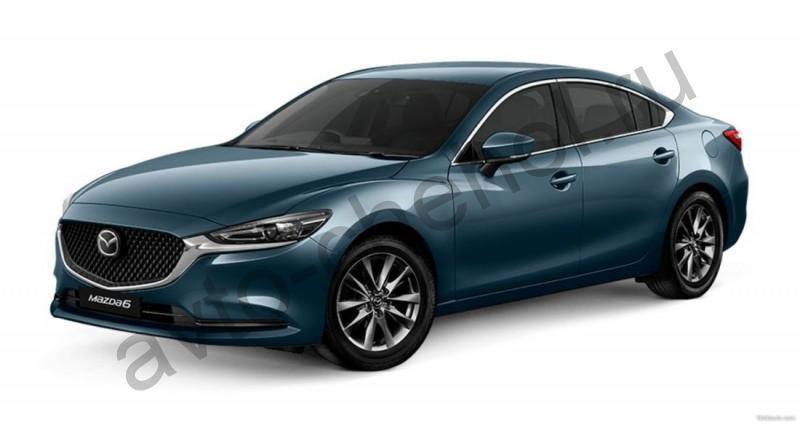 Авточехлы Mazda 6 III (GJ) рестайлинг (2018-2021)