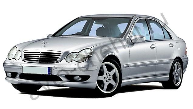 Авточехлы Mercedes C Klasse W203 (2000-2008)