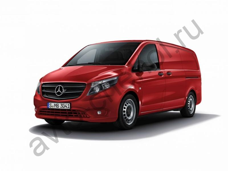 Авточехлы  Mercedes Vito (W447) 3 места (2014-2021)
