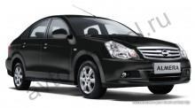 Кузов - Авточехлы Nissan Almera III (G-11) спинка сплошная 2013+