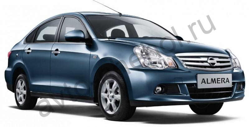 Авточехлы Nissan Almera III (G-15)Спинка 40/60 2013+