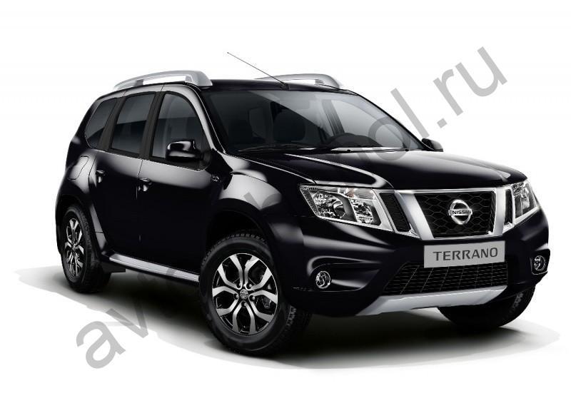 Коврики Nissan Terrano 2014+