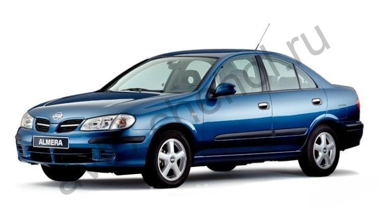 Авточехлы Nissan Almera N-16 (2000-2006)