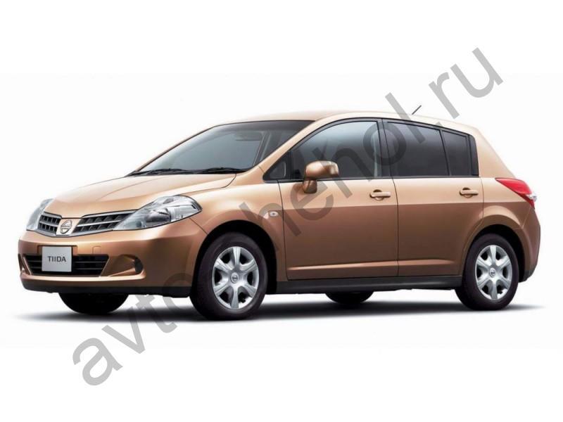 Авточехлы Nissan Tiida C-11 хэтчбек 2004-2014