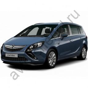 Авточехлы Opel Zafira C 2012+