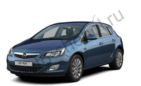 Коврики Opel Astra J 2010+