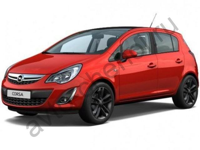 Коврики Opel Corsa D ( 3дв, 5дв, ) 2006-2014