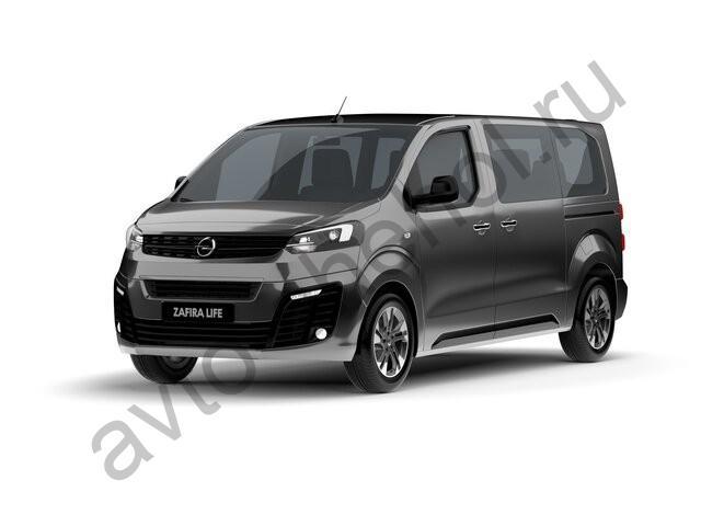 Авточехлы Opel Zafira Life 8 мест (2019-2021)