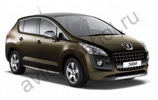 Коврики Peugeot 3008 2009+