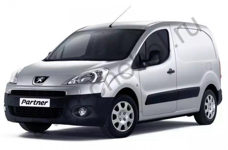 Авточехлы Peugeot Partner Tepee 3 места 2008+