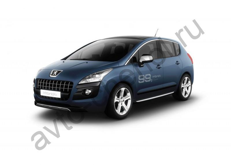 Авточехлы Peugeot 3008 Lux  2009+