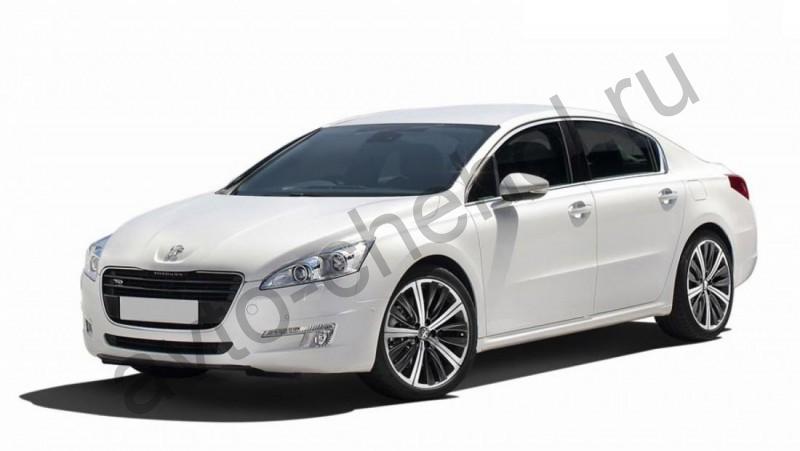 Авточехлы Peugeot 508  2011+