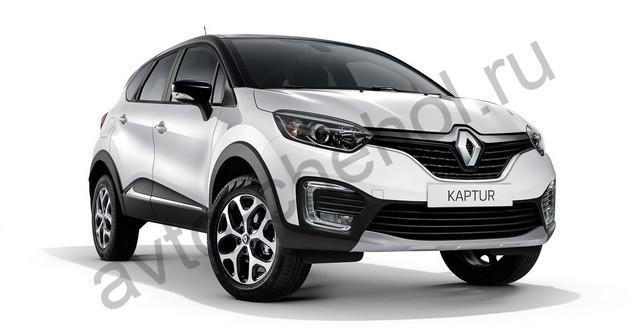 Коврики Renault Kaptur 2016+