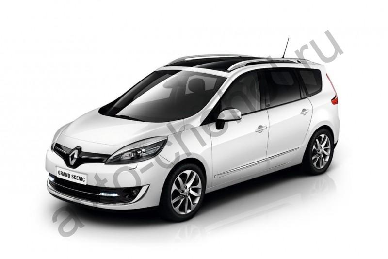 Авточехлы Renault Scenic III LUX (2009-2016)
