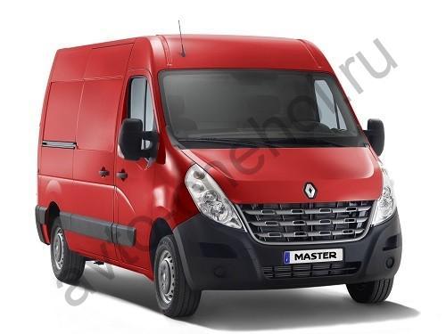 Коврики Renault Master 3 места 2013+