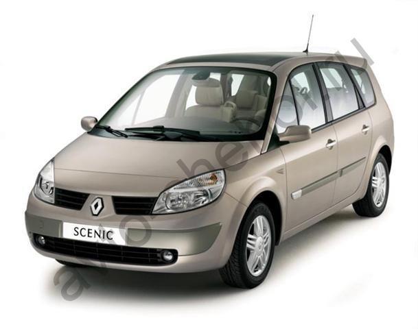 Авточехлы Renault Scenic II Lux (2003-2009)