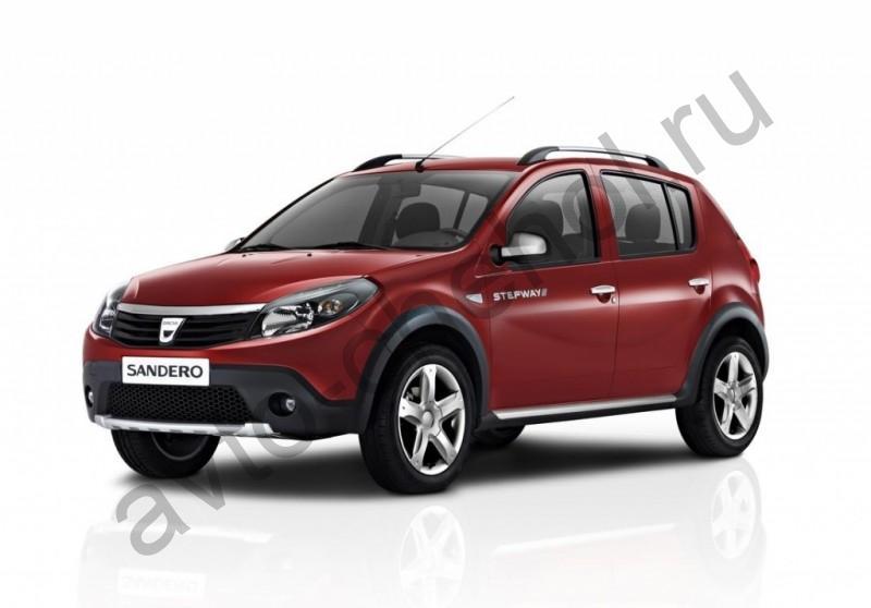 Коврики Renault Sandero I 2009-2014