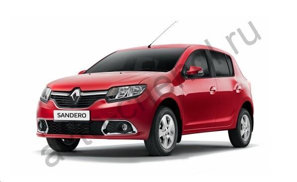 Коврики Renault Sandero II 2014+