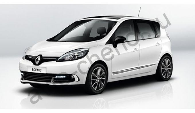 Коврики Renault Scenic III 2009+