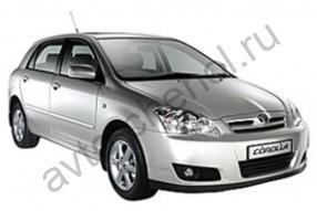 Авточехлы Toyota Corolla E120 хэтчбек 2000-2007