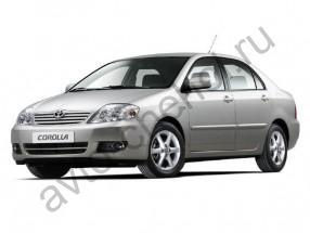Авточехлы Toyota Corolla E120 sedan 2000-2007