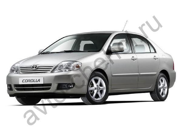 Коврики Toyota Corolla E120 sedan 2000-2007