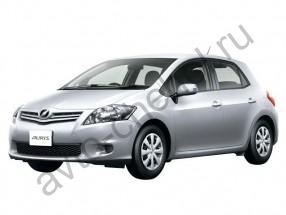 Авточехлы Toyota Auris 2006-2012