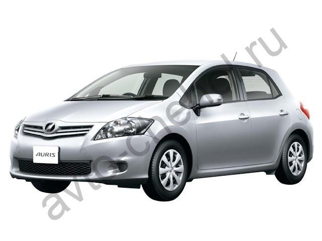 Коврики Toyota Auris 2006-2012