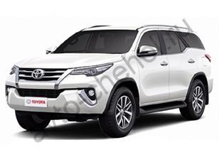 Чехлы на сидения Toyota Fortuner II (2015-2021)