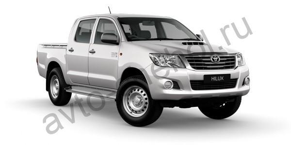Коврики Toyota Hilux VIII 2015+