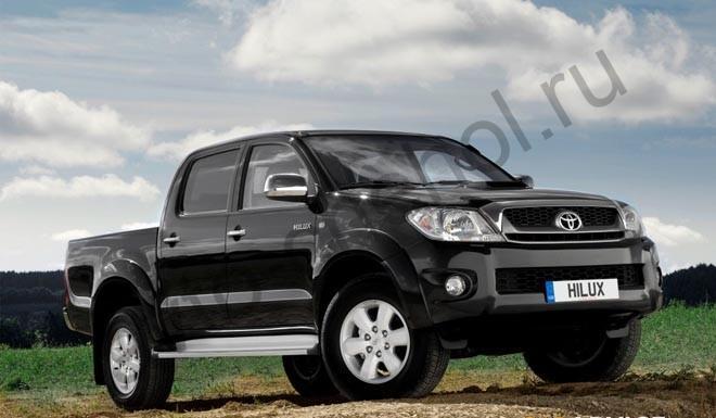Коврики Toyota Hilux VII 2006-2015