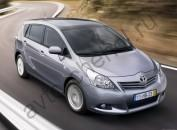 Кузов - Коврики Toyota Verso I 7мест 2009–2013