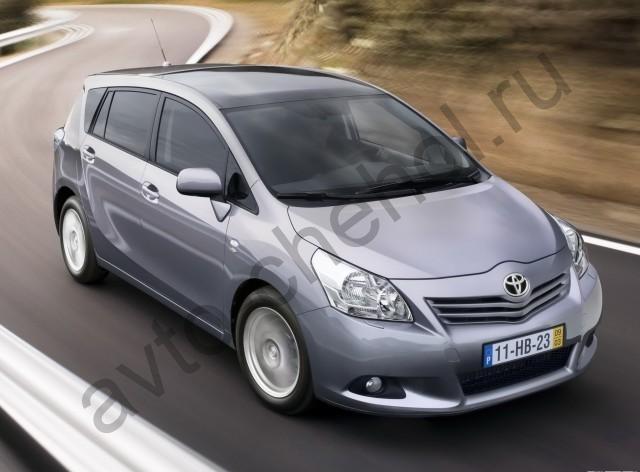 Коврики Toyota Verso I 7мест 2009–2013