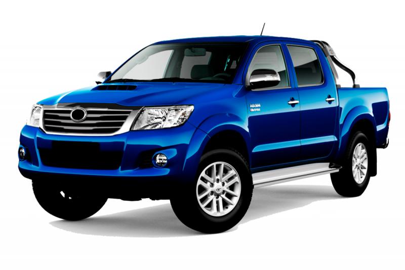 Авточехлы Toyota Hilux VIII 2015+