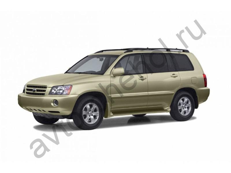 Авточехлы Toyota Highlander I 2001-2007
