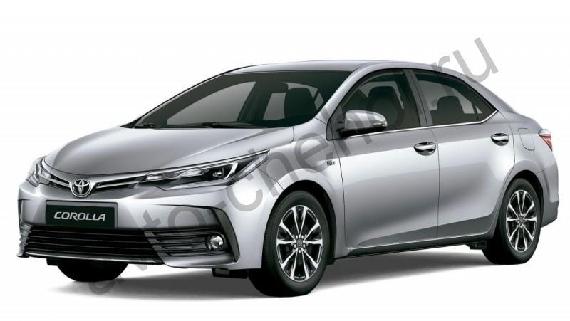 Авточехлы Toyota Corolla E160-E170 (2012-2018)