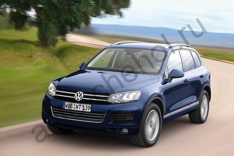 Коврики Volkswagen Touareg II 2011+