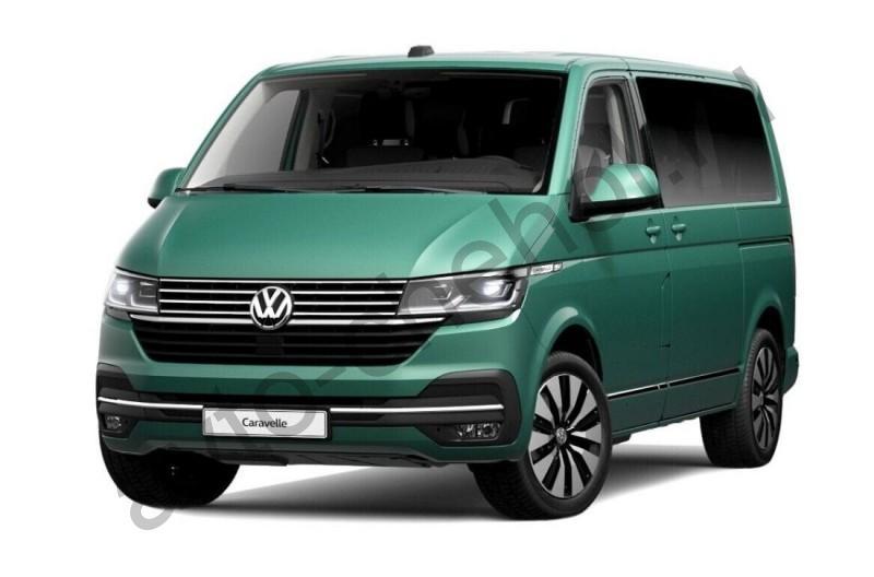 Авточехлы Volkswagen T-6 Caravelle 8-9 мест (2015-2021)